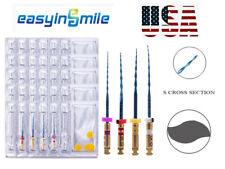 Easyinsmile Dental Endodontic Niti X Two Endo Rotary Root Canal Files 25mm 4pcs