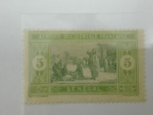 RB-086-1914-Senegal-5c-Stamp-034-Food-034-MNH