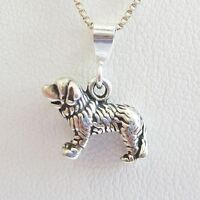Saint Bernard Mini Pendant Charm And Necklace- Free Shipping