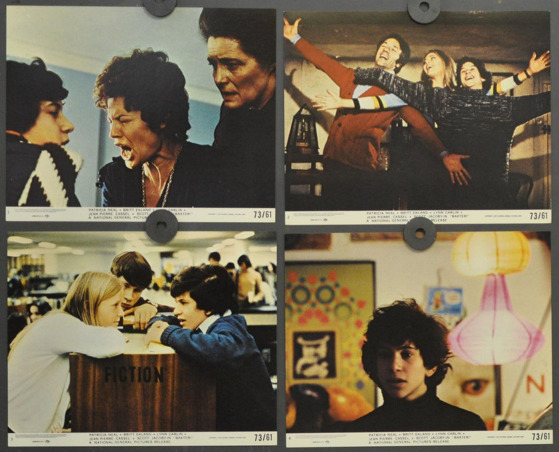 Baxter 1973 Original 8X10 Lobby Karte Set Patricia Neal Jean-Pierre Cassel