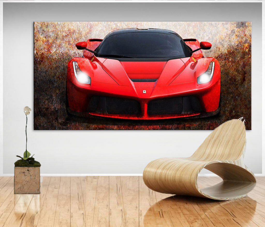 458 Bj 2016 Abstrait auto voiture de sport Image Sur Toile Abstrait 2016 images Art pression d0328 db3b78
