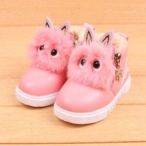 bastante agradable 2a466 72995 Details about Zapatos Botas Botines para niñas Calzado casual para niños  Nueva moda Botas New