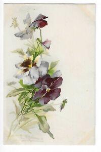 CATHARINA SIGNED ILLUSTRATION KLEIN FLOWERS
