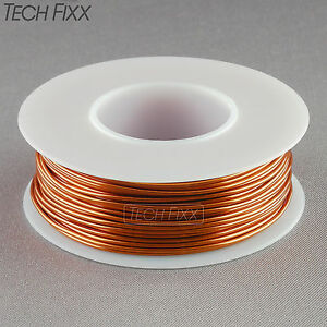 Magnet-Wire-18-Gauge-AWG-Enameled-Copper-40-Feet-Coil-Winding-amp-Crafts-200C