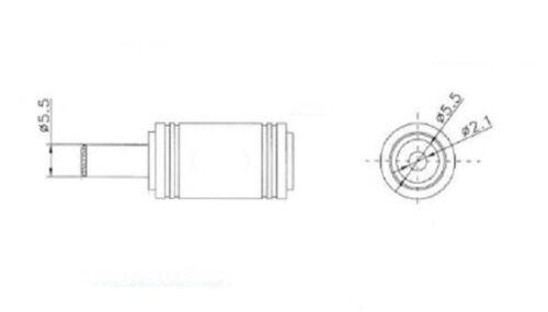 2,1mm für E-Bike Pedelec STC-8127L Ladegerät für Lithium-Ionen Akku 36V 2A 5,5