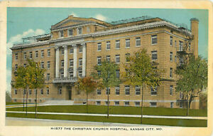 Postcard-The-Christian-Church-Hospital-Kansas-City-MO