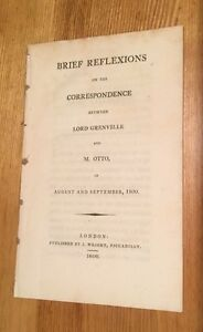 1800-Brief-Reflections-On-The-correspondence-Between-Lord-Grenville-And-M-Otto