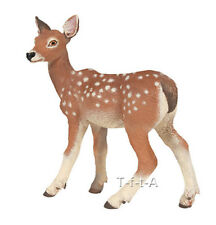 NIP Forest Model Toy Replica Mojo Fun 387036 White Tailed Deer Fawn