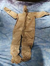 Dupont Tychem Cpf 3 Zip Front Cover Size 3x Xxxl Cpf3 Body Suit Hood Hazmat