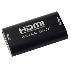 1080P-3D-HDMI-4K-2K-Repeater-Extender-Over-Signal-HDTV-Booster-Adapter-jl