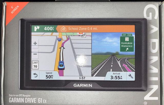 """GARMIN GPS 61EX 6"""" Touchscreen Brand New"""