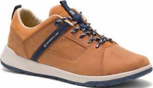 CATERPILLAR-Quest-Mod-P724148-en-Cuir-Sneakers-Baskets-Chaussures-pour-Hommes