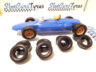 8 URETHANE tyres Cooper SCALEXTRIC UK