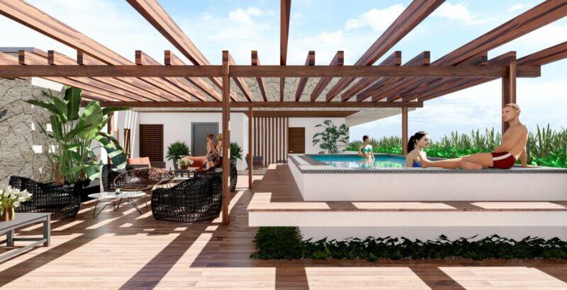 Departamentos en venta Playa del Carmen 2 recamaras