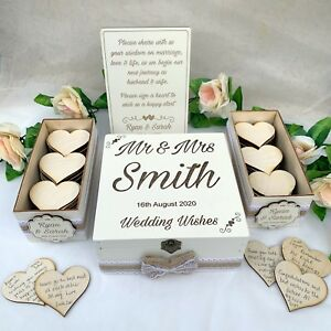 Wooden-Rustic-Wedding-Wish-Box-Guest-Book-Alternative-Drop-in-Box-Wood-White