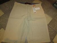 Wear First Wearfirst Khaki Shorts Mens 36 Sand M01c90 Free Ship