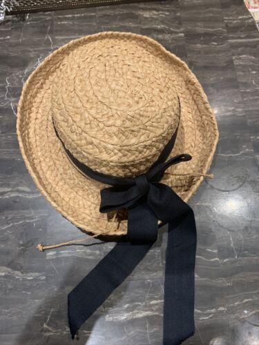 Helen Kaminski Australia Handmade Raffia Straw Hat