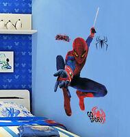 The Amazing Spider Man Marvel Comics Wall Decal Sticker Decor Art Spiderman