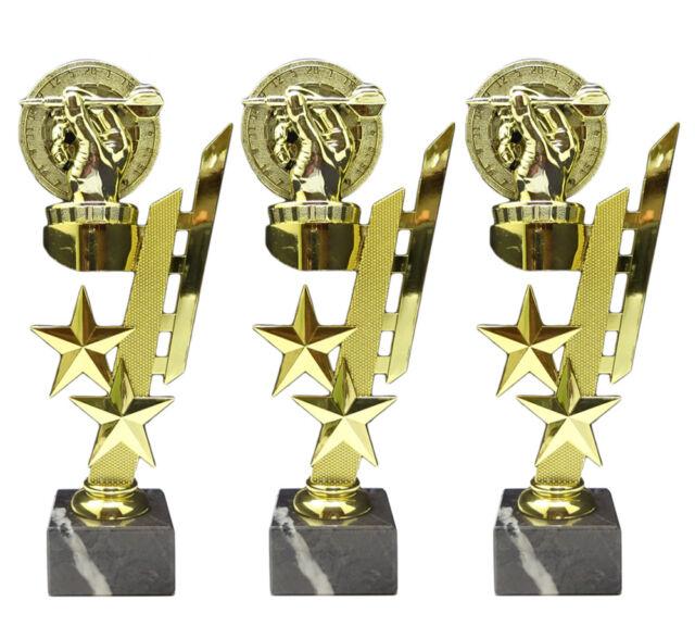 RaRu 3er-Serie Fussball-Pokale mit Ihrer Wunschgravur