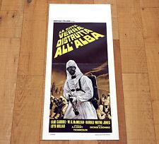 LA CITTà VERRà DISTRUTTA ALL'ALBA locandina poster Romero The Crazies Horror W94