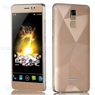 "XGODY 5.5"" Smartphone Unlocked 3G Quad Core Dual SIM For Android Mobile Phone"