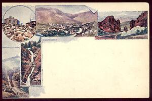 1905 DENVER CO SOUVENIR POSTAL CARD UNUSED, ABOVE PIKES PEAK REGION VIEWS PC4248