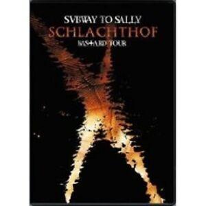 "SUBWAY TO SALLY ""SCHLACHTHOF (LIVE)"" BLU RAY NEU"
