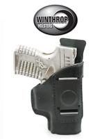 Kel-tec Pf-9 - 3.1 Iwb Shield Single Spring Clip Holster R/h Black 0974