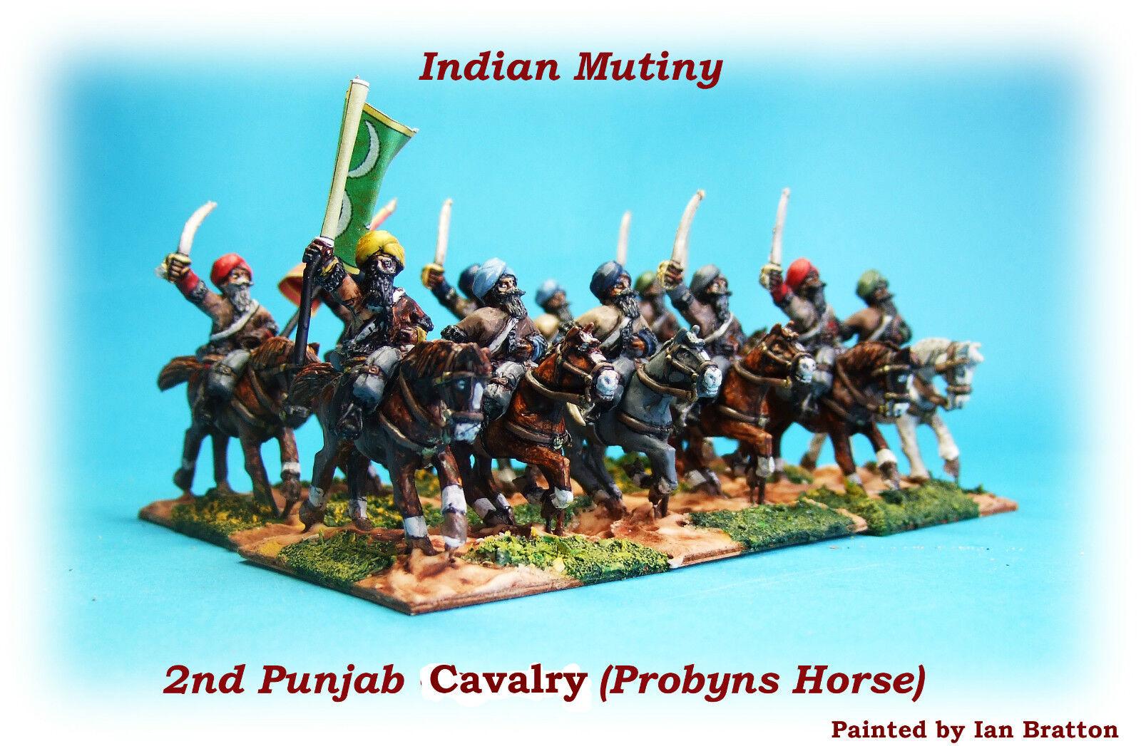Indian Mutiny - 2nd Punjab Cavalry Unit x 12