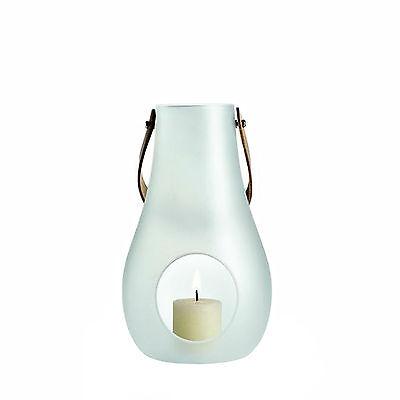 HOLMEGAARD Laterne Windlicht M weiß satiniert ø 15,5 cm, h 24,8 cm