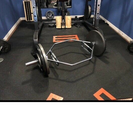 7 Foot Olympic Weight Bar 1 Inch Plates Home Gym Bench Squat Fitness Strength For Sale Online Ebay