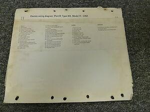 1971 Porsche 914 Coupe Electrical Wiring Diagram Service ...