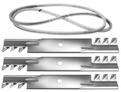 3 Long Life Gator G5 Fusion Blades For John Deere GX21784 GY20852 G21786 US Made