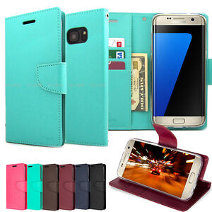 Goospery-Slim-Card-Flip-Slot-leather-wallet-BRAVO-Case-Cover-for-Galaxy-iPhone