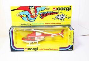 Corgi-929-Superman-diario-Planeta-Jetcopter-En-Su-Caja-Original-Casi-Nuevo-Retro