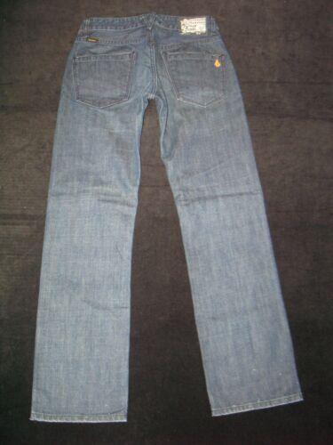 30 Kinkade Jeans Volcom Diritto 28 Sdrucito Basse X Sottile Stone Uomo Scuro qA77BP