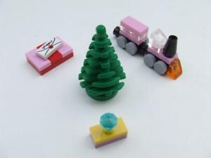 * New Lego City Christmas Tree with Pink Train Fun Set Presents