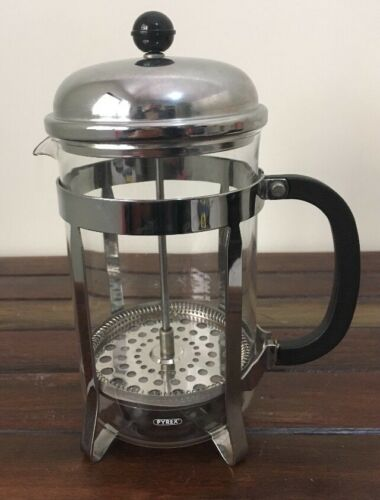 RETRO PYREX COFFEE French PRESS 1500ml Bakelite Handle Very Good Condition