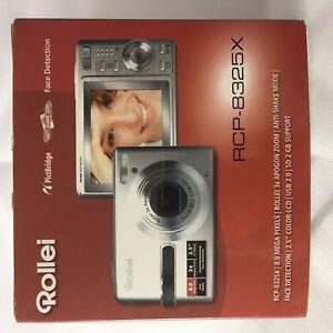 WIE-NEU-OVP-TOP-Digitalkamera-ROLLEI-RCP-8325X-Original-verpackung-komplett