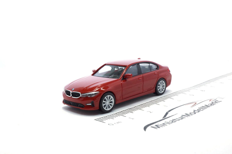 #430791 1:87 Melbourne rot metallic Herpa BMW 3er Limousine