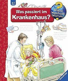 Wieso-Weshalb-Warum-53-Was-passiert-im-Krankenhaus-Buch-Zustand-gut