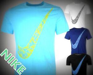 68e9d55c New Nike Branded Mens Palm Just Do It Swoosh T-Shirt Mens Size -M ...