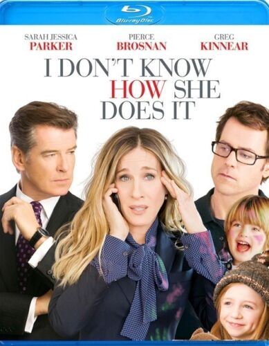 1 of 1 - I DON'T KNOW HOW SHE DOES IT****BLU-RAY****REGION B****NEW & SEALED