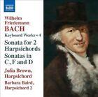 Wilhelm Friedemann Bach: Harpsichord Works, Vol. 4 (CD, Apr-2013, Naxos (Distributor))