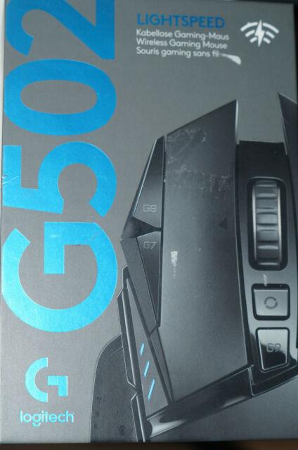 Logitech G502 Lightspeed Kabellose Gaming Maus - Schwarz