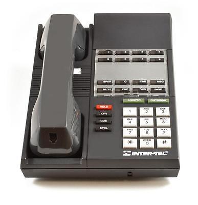 Fully Refurbished Intertel Premier E-SET 8-Button Phone Charcoal