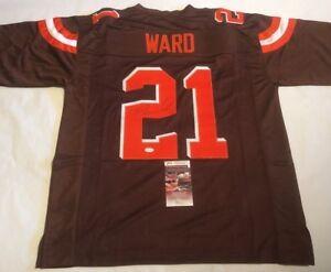 Image is loading Denzel-Ward-Autographed-Cleveland-Browns-Brown-Jersey-JSA- 12ce087b8