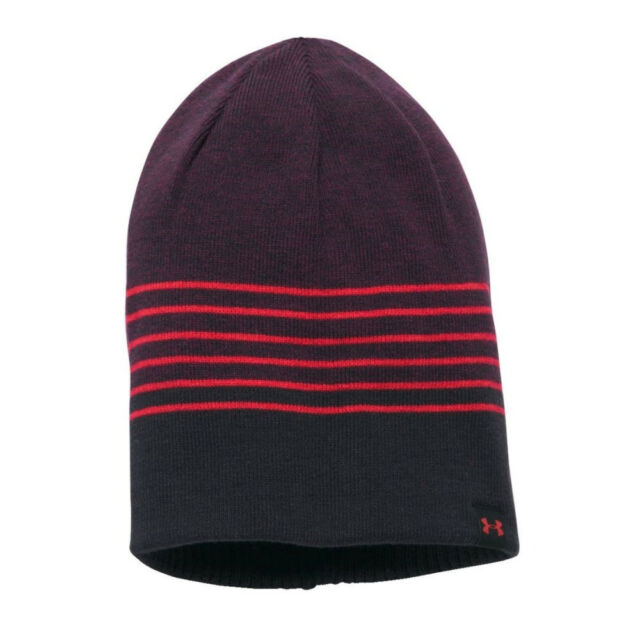 Under Armour 2017 ColdGear 4 in 1 Reversible 2.0 Beanie Mens Winter ... 5dc60f45750