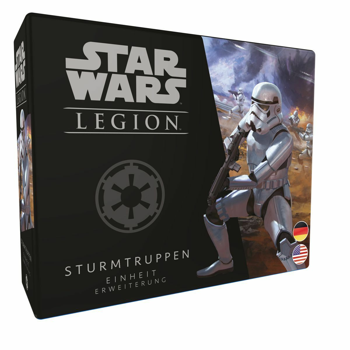 Star Wars Legion Storm Troopers Extension (German   English) Imp. Storm Trooper
