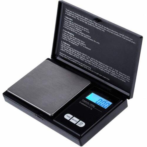 Digitale Taschen Waage 1000G X 0.1G Schmuck Waage Mini Elekt G2O5 Küchen Waage